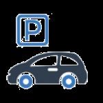 parcare gratuita in curtea pensiunii