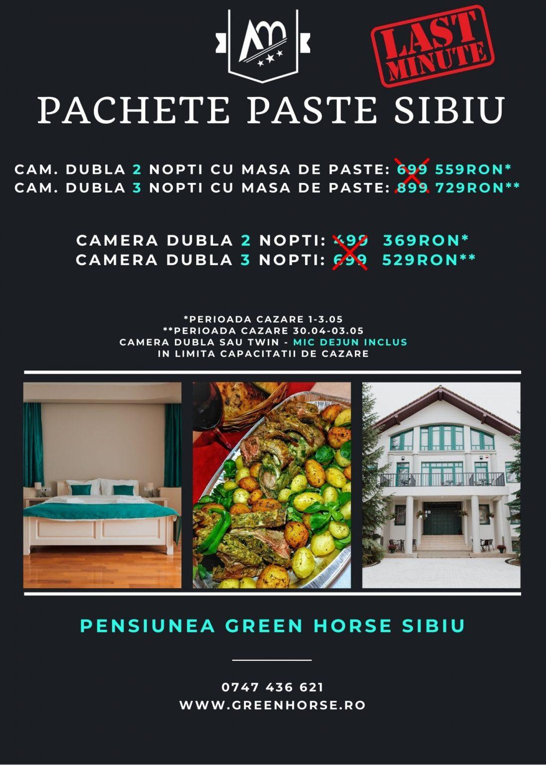 oferta paste green horse sibiu